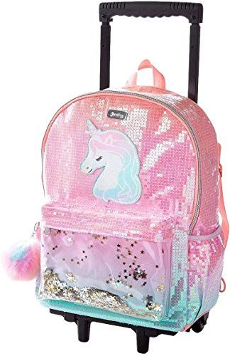 Best Seller Justice Unicorn Ombre Shaky Rolling Backpack Online