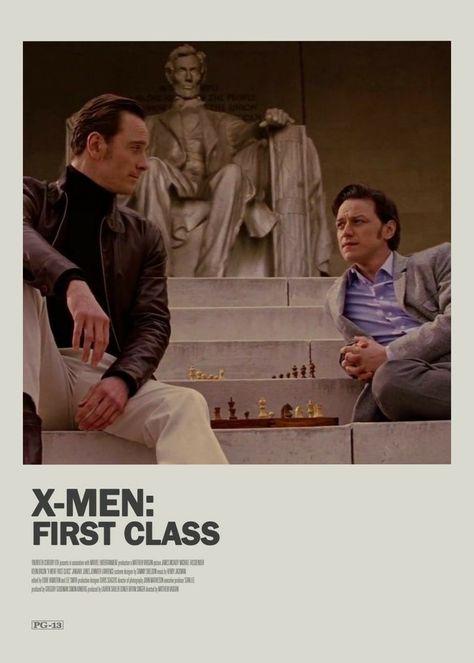 X-men first class alternative movie poster