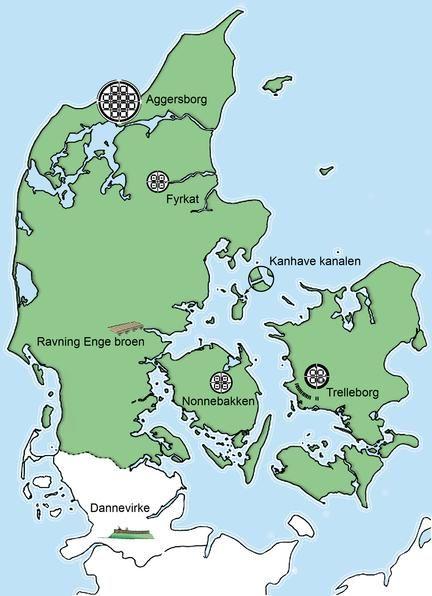 Trelleborg I 2020 Geografi Danmark Arkaeologi