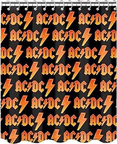 Ac Dc Logo Shower Curtain For Those About To Rock Or For Your