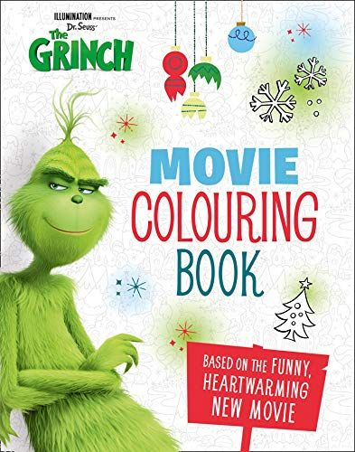 The Grinch Movie Colouring Book Grinch Movie Tie In