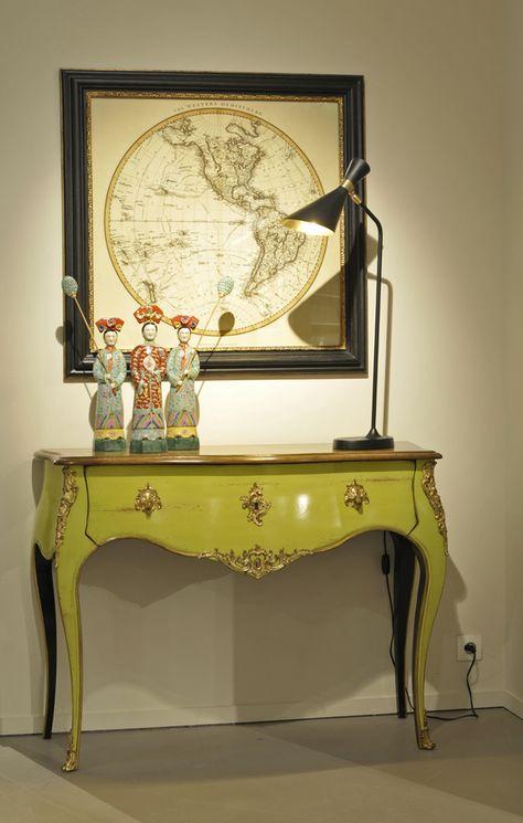 Console Volutes Rochebobois Lime Homedecor Decoration Interieure Relooker Meuble Decoration