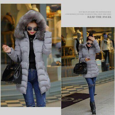 Ad)eBay Fashion Winter Womens Long Jacket Warm Cotton Slim