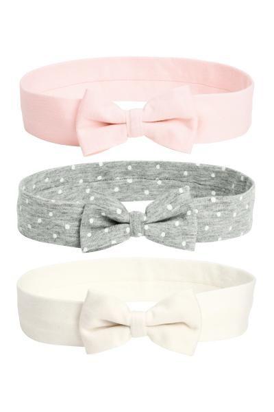 Lot De 3 Bandeaux Rose Clair Enfant H M Fr Girls Clothing Online Baby Girl Clothes Kids Outfits