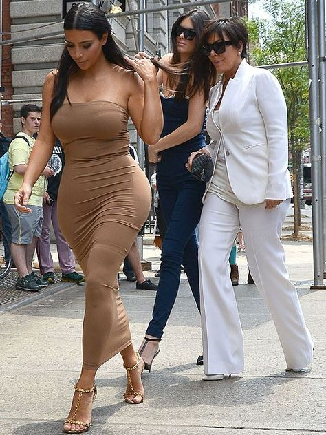 Kim Kardashian Looks Ready to Explode in Super-Tight Tube Dress after WEIGHT LOSS