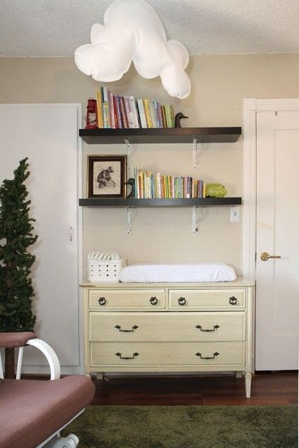 Shelves Above Changing Table | Baby Fever  The Nest | Pinterest | Change  Tables, Nursery And Babies