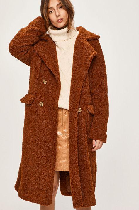 Answear Plaszcz Coat Fashion Fur Coat