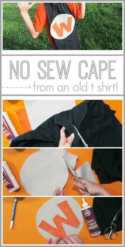 No Sew Cape