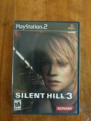 Silent Hill 3 Sony Playstation 2 Ps2 Includes Manual And