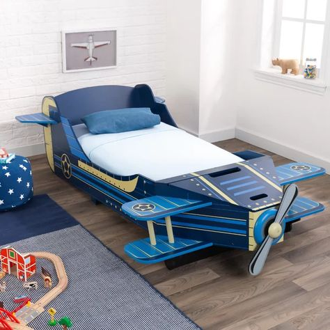 Airplane Toddler Car Bed With Storage Toddler Car Bed Toddler Bed With Storage Twin Car Bed