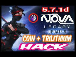 Nova Legacy Hack How To Get Get Free Trilithium And Coins For