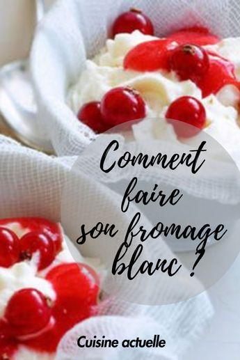 Comment Faire Du Fromage Blanc : comment, faire, fromage, blanc, Comment, Faire, Propre, Fromage, Blanc, Blanc,, Fromage,