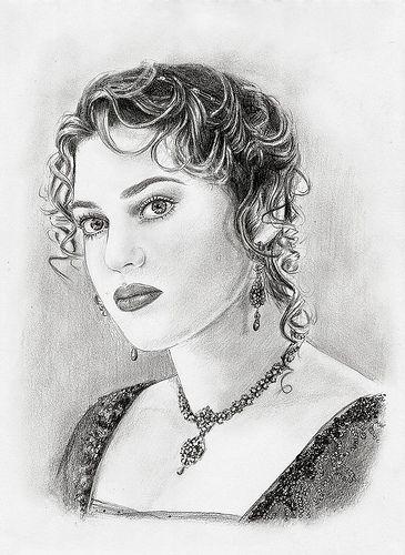 Titanic Rose Drawing