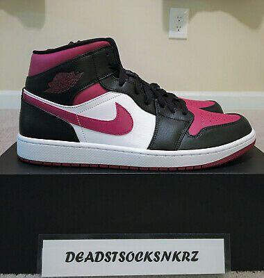 Nike Air Jordan 1 Mid Bred Toe 554724 066 Mens Size With Images Air Jordans Jordan 1 Mid
