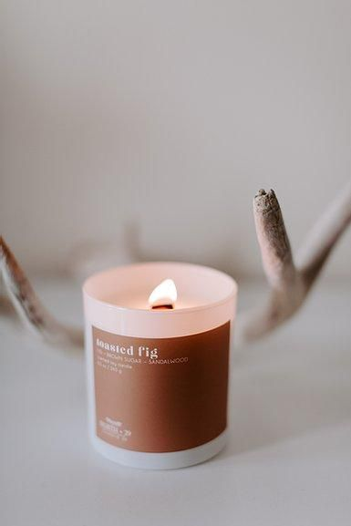 Toasted Fig Soy Candle Soy Candles Candle Aesthetic Candles