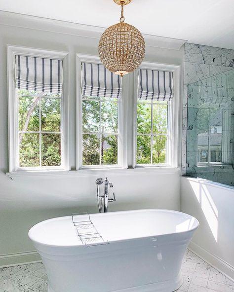 Stunning Master Bathroom In 2021 Master Bathroom Design Bathroom Design Visual Comfort