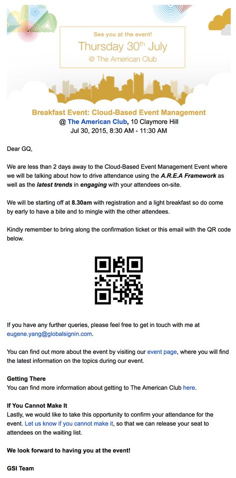 How To Build A Successful Event Reminder Email Book Party
