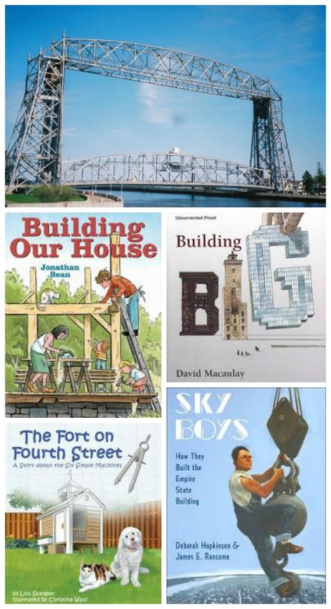 Great reads & fun activities that introduce kids to engineering!