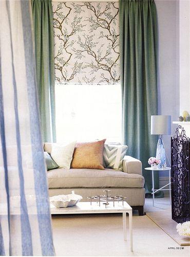 Fresh Die besten Bilder zu Window Treatments auf Pinterest Gardinenstangen Raffrollos und Fensterdekorationen