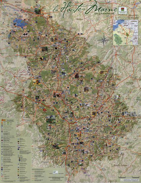 MontereaufaultYonne Carte touristique des Deux Fleuves