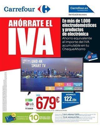 Catalogo Carrefour Del 10 Al 22 De Enero 22 De Enero Smart Tv