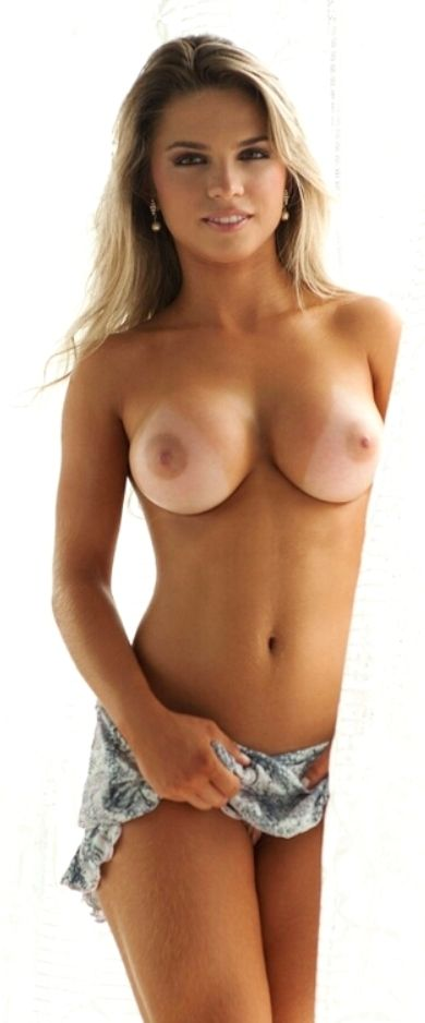 Hot tan sexy naked women