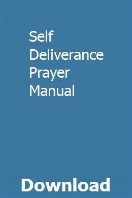 Self Deliverance Prayer Manual | reischulguepi