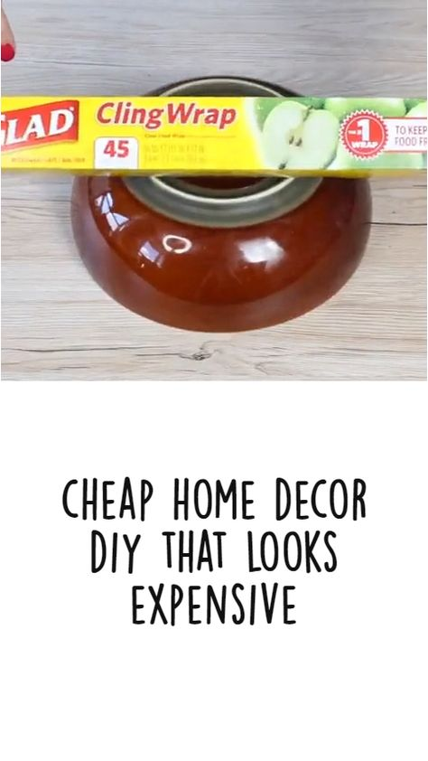 Easy and Cheap Home Decor DIY that Looks Expensive