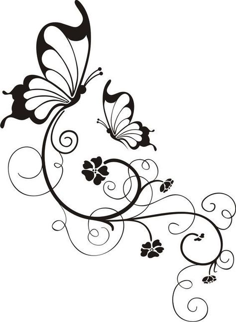 Wood burning designs stencil paint 28 Ideas for 2019 Stencil Patterns, Embroidery Patterns, Hand Embroidery, Stencil Templates, Templates Free, Vine Tattoos, Wood Burning Patterns, Butterfly Art, Butterflies