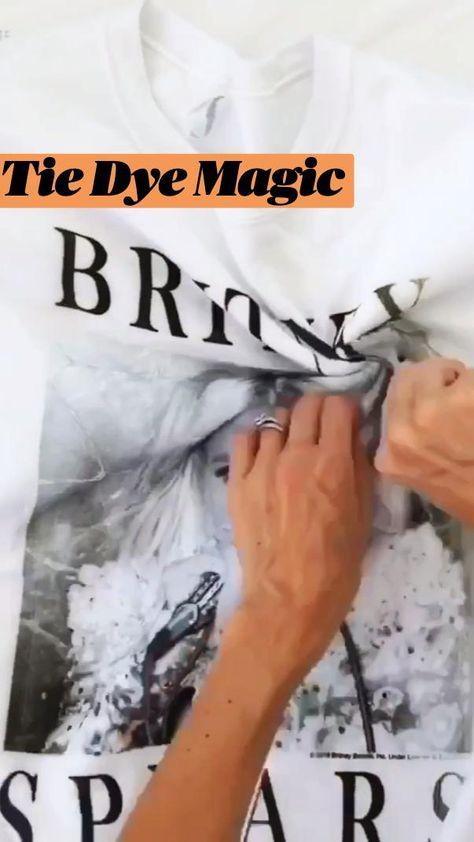 Tie Dye Magic via abeautifulmess.com