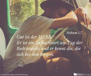 Nachzulesen auf BibleServer | Nahum 1,7