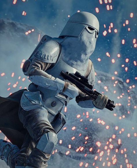 """11k Likes, 28 Comments - Star Wars Lore (@starwars_lore) on Instagram: """"Cold Weather Assault Stormtroopers (Lore) These were the elite stormtroopers of the Galactic…"""""""