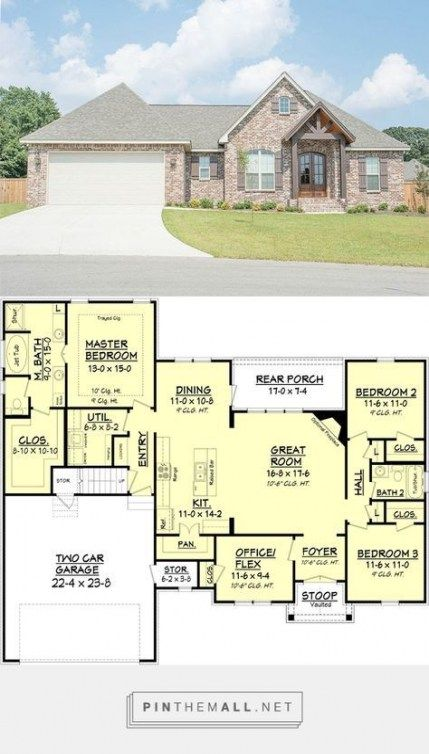 70 Trendy House Plans Open Floor 1900 Sq Ft Craftsman Style House Plans New House Plans House Blueprints