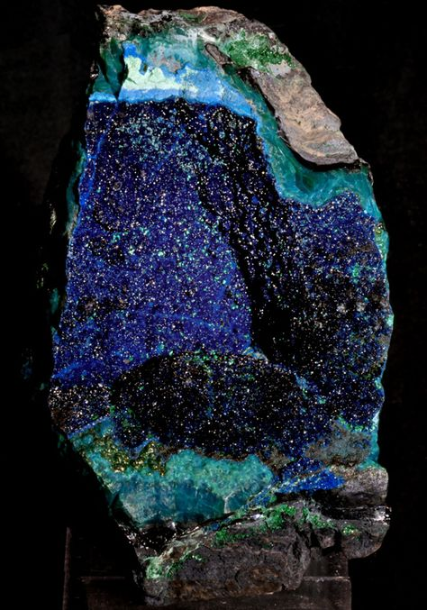 Cornetite from Katanga Crescent, Katanga, Democratic Republic of Congo