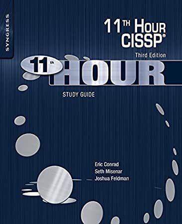 Epub Eleventh Hour Cissp Study Guide Study Guide Free Reading Book Addict