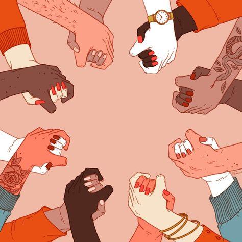 Solidarity, an art print by Julia Bernhard - INPRNT