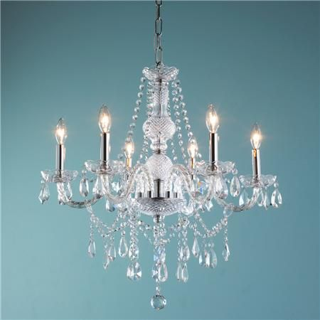 French Reproduction Crystal Chandelier