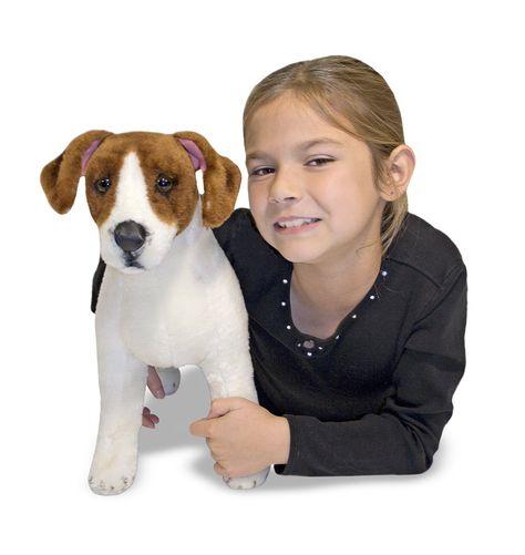 Melissa & Doug Giant Jack Russell Terrier Lifelike