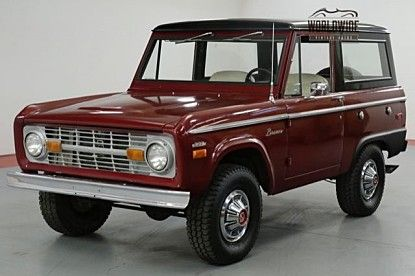 1970 Ford Bronco For Sale 101055819 Ford Bronco For Sale