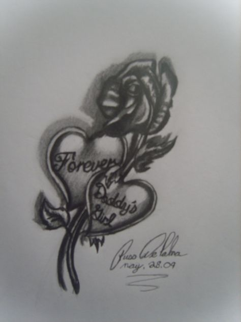0e61e50fc Daddy's Girl Tattoos Designs | Forever daddys girl by bloodwolf81 on  deviantART