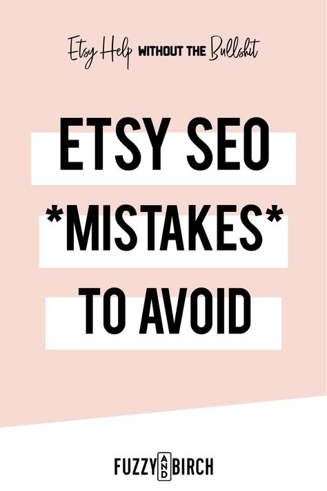 Etsy SEO Horror Stories and How to Avoid Them
