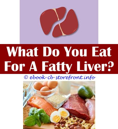 diet for an enlarged liver