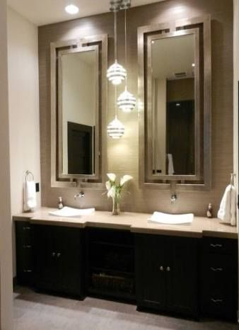 Best Guest Bathroom Lighting Ideas 38 Ideas Dark Wood Bathroom Wood Bathroom Vanity Bathroom Design