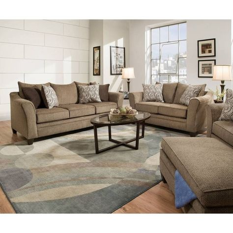 Simmons Upholstery Albany Truffle Queen Sleeper Sofa Tan In 2020 Living Room Sets Cheap Living Room Sets Living Room Furniture