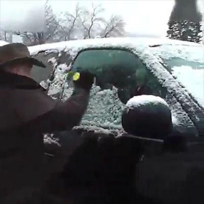 Magical Car Ice Scraper