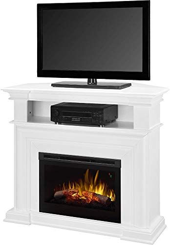 New Dimplex Colleen Corner Tv Stand Electric Fireplace White Online Shopping Fireplace Tv Stand Electric Fireplace Tv Stand Corner Electric Fireplace