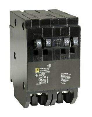 Square D By Schneider Electric Homt2020220cp Homeline 2 20 Amp Single Pole 1 In 2020 Gadget World Circuit Electricity