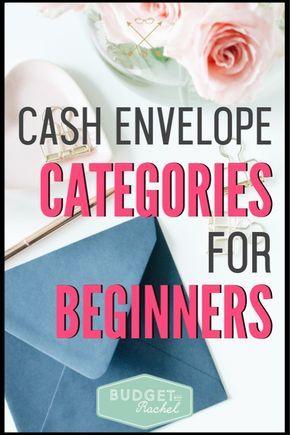 Cash Envelope System Categories For Beginners