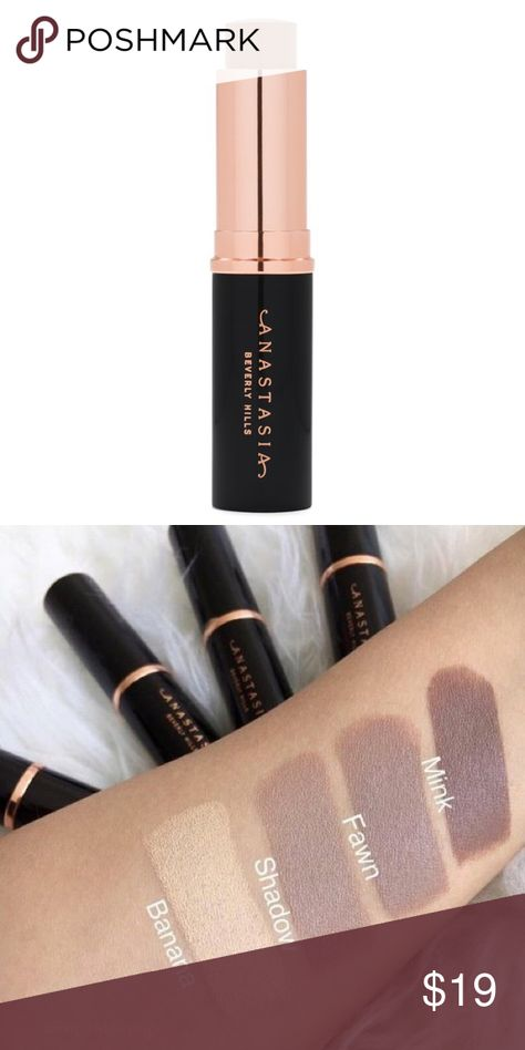 "🆕ABH // Stick Foundation💋 Anastasia Beverly Hills stick foundation, in shade ""Fawn."" 10000% authentic. Brand new, still in original packaging. Anastasia Beverly Hills Makeup Foundation"