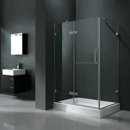 Vg6011bncl40wl 32 X 40 Corner Shower Enclosure With Frameless